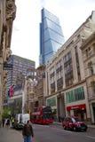 LONDRA, REGNO UNITO - 24 APRILE 2014: Città di Londra una dei centri principali di finanza globale, sedi per le banche diretrici, Immagini Stock Libere da Diritti
