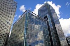 LONDRA, REGNO UNITO - CANARY WHARF, IL 22 MARZO 2014 Immagine Stock