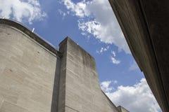 LONDRA, REGNO UNITO - 21 GIUGNO 2014: Architettura del Brutalist Fotografia Stock