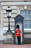 LONDRA, REGNO UNITO - 12 GIUGNO 2014: Guardie reali britanniche Fotografie Stock Libere da Diritti