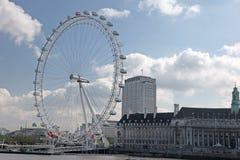LONDRA, REGNO UNITO - 6 GIUGNO: Occhio di Londra il 6 giugno 2011 nella L Immagini Stock Libere da Diritti