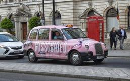 Londra, Regno Unito, giugno 2018 Taxi di Londra fotografia stock