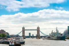 LONDRA, REGNO UNITO - 21 giugno 2016 Vista della via di bello Fotografia Stock Libera da Diritti