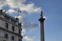 Londra, Regno Unito, il 14 giugno 2018 Quadrato di Trafalgar immagine stock