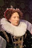 Londra, Regno Unito - 20 marzo 2017: Figura di cera della regina Elisabetta I a signora Tussauds London Fotografia Stock