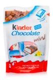 LONDRA, Regno Unito - 17 novembre 2017: Minibar più gentili del cioccolato su bianco Le barre più gentili sono prodotte da Ferrer Fotografia Stock Libera da Diritti