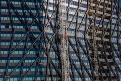 Londra, Regno Unito - 21, ottobre 2018: Architettura moderna a Londra fotografia stock libera da diritti