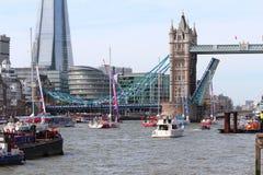 Londra, Regno Unito. 1° settembre 2013. Il tagliatore intorno al mondo Yac Immagine Stock Libera da Diritti