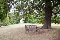 28 07 2015, LONDRA, Regno Unito, vista dai giardini di Kew Fotografia Stock