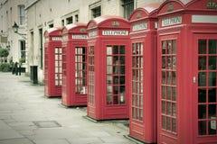 Londra retro Fotografie Stock Libere da Diritti