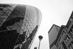 LONDRA - 21 SETTEMBRE: 30 st Mary Axe, svizzera con riferimento a, cetriolino Fotografia Stock