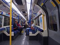 Londra sotterranea Immagine Stock Libera da Diritti