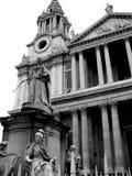 Londra - statua Fotografie Stock