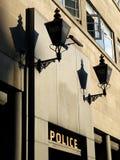 Londra: stazione di polizia degli anni 40 Immagini Stock Libere da Diritti