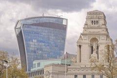 Londra, vecchio e nuovo Fotografia Stock Libera da Diritti