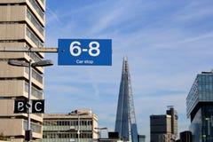 Londra Waterloo orientale Fotografie Stock Libere da Diritti