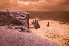 Londrangar nahe Vik, Island Lizenzfreie Stockbilder