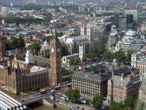 Londres é a capital de Grâ Bretanha Fotografia de Stock Royalty Free