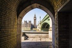 Londres étroite Photo stock