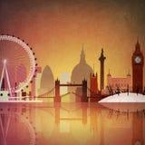 Londres ilustración del vector