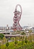 Londres 2012 : Orbite d'ArcelorMittal Image libre de droits