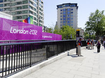 Londres 2012 signes Images stock