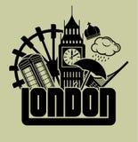 Londres stock de ilustración