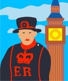 Londres illustration libre de droits