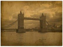 Londres. Abbe de Westminster de la vendimia Imágenes de archivo libres de regalías
