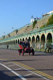 Londres al funcionamiento 2015 del coche de Brighton Veteran Foto de archivo libre de regalías