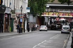 LONDRES, ANGLETERRE - 15 juillet 2017 - marché coloré de rue de Londres de route de portobello Image libre de droits