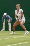 LONDRES, ANGLETERRE 22 JUIN 2009 : Joueur de tennis Petra Cetkovska dedans Photo stock