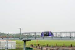 LONDRES, ANGLETERRE - 27 SEPTEMBRE 2017 : Machine de stationnement de cosse de Heathrow dans l'aéroport international de Londres  Image libre de droits