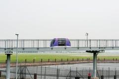 LONDRES, ANGLETERRE - 27 SEPTEMBRE 2017 : Machine de stationnement de cosse de Heathrow dans l'aéroport international de Londres  Images stock