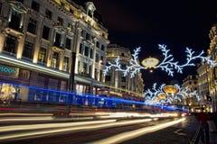 Londres antes de la Navidad Fotografía de archivo