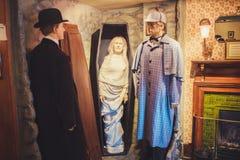 LONDRES - 24 AOÛT 2017 : Le musée de Sherlock Holmes est localisé photographie stock