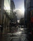 Londres após a chuva fotografia de stock