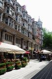 Londres, avenida siciliano Fotografia de Stock