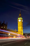 Londres Big Ben e casas do parlamento Fotografia de Stock Royalty Free
