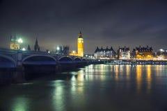 Londres - Big Ben y Westminster Foto de archivo libre de regalías