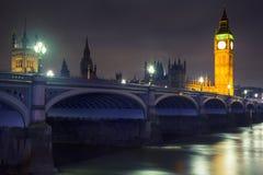 Londres - Big Ben y Westminster Fotografía de archivo