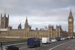 Londres - Big Ben y Westminster Imágenes de archivo libres de regalías