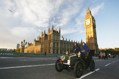 2014, Londres a Brighton Veteran Car Run Imagens de Stock Royalty Free