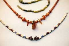 29 07 2015, LONDRES, BRITISH MUSEUM - bijoux égyptiens Photo stock