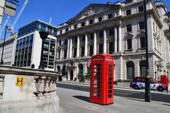 Londres céntrico Imágenes de archivo libres de regalías