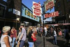 Londres Camden Market Foto de Stock Royalty Free