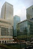 Londres Canary Wharf - banques Photos stock