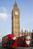 Londres chamada Imagens de Stock Royalty Free