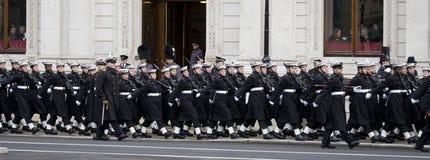 Londres - défilé de souvenir Images libres de droits