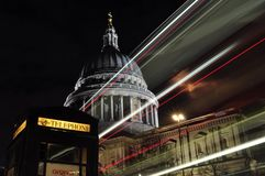 Londres dans une photo Photo stock